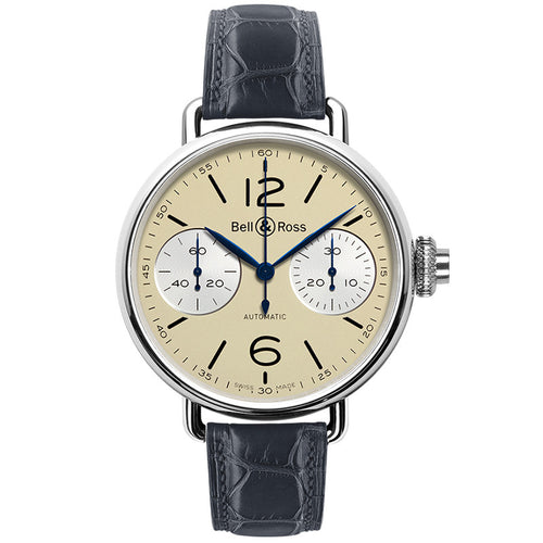 Bell & Ross WW1 CHRONOGRAPHE MONOPOUSSOIR IVORY