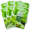 DEOPROCE Color Synergy Effect Mask Sheet - Green (Aloe & Green Tea)