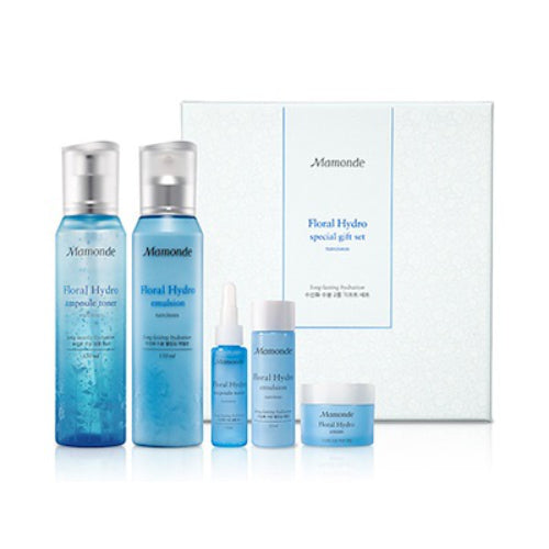 Mamonde Floral Hydro Gift Set (Toner 150ml + Emulsion 150ml)