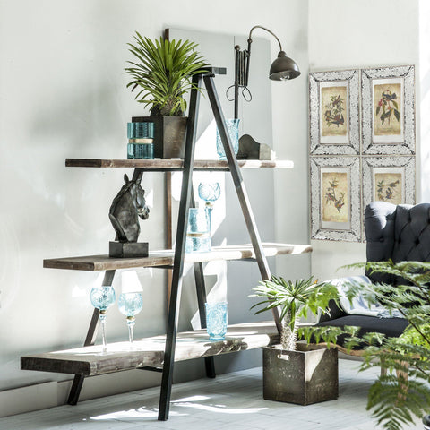 INDUSTRIAL TRIPOD BOOKCASE Philbee Interiors