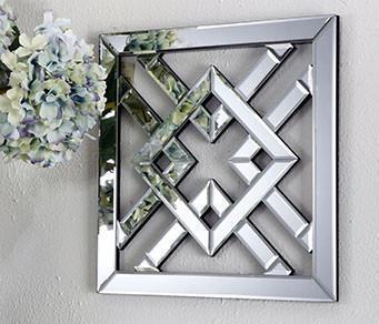 SYMMETRY MIRORED WALL ART Philbee Interiors
