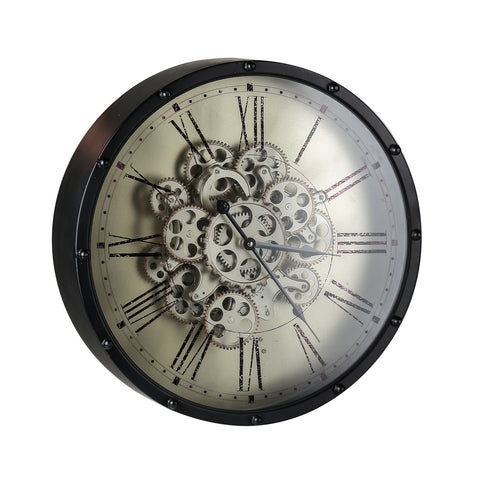 ROMAN NUMERAL WALL CLOCK 3D Philbee Interiors