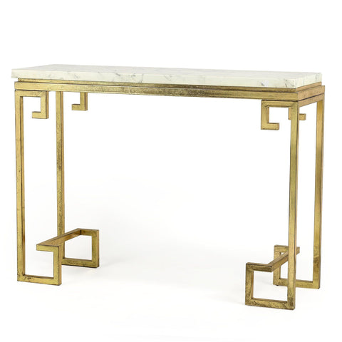 MARBLE SIDEBOARD GOLD Philbee Interiors
