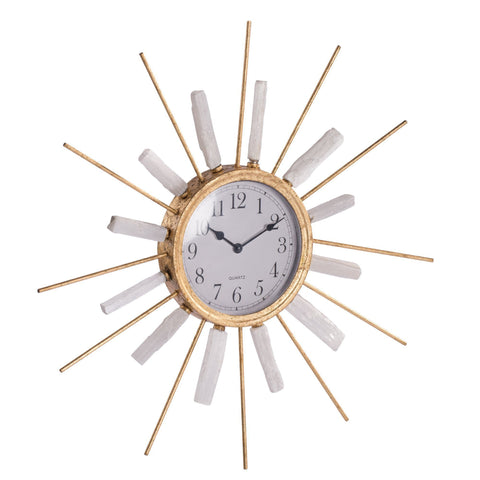 SUN RAYS WALL CLOCK 30% DISCOUNT Philbee Interiors