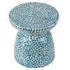 SANTORINI SHELL STOOL/SIDE TABLE Philbee Interiors