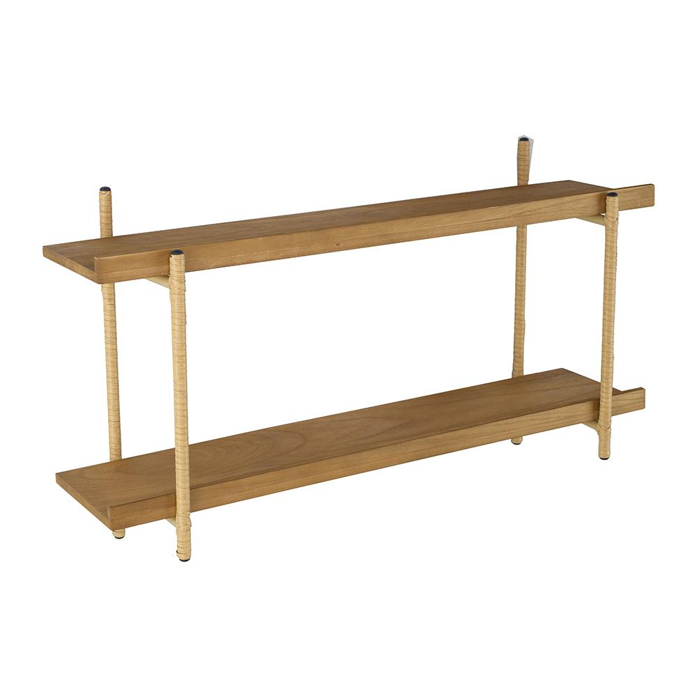 MINIMALIST NATURAL DUAL SHELF Philbee Interiors