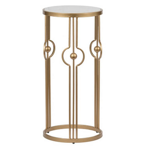 MARBLE ART DECO SIDE TABLE Philbee Interiors