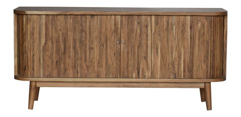 SLATTED HAND-CRAFTED HARDWOOD SIDEBOARD Philbee Interiors