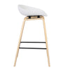 COMFY BAR STOOL WHITE Philbee Interiors
