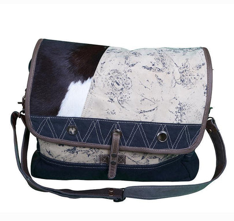 COWHIDE SATCHEL Philbee Interiors