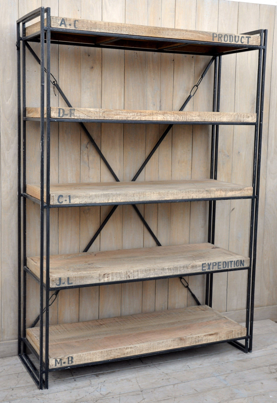 EXPEDITION INDUSTRIAL BOOKCASE Philbee Interiors