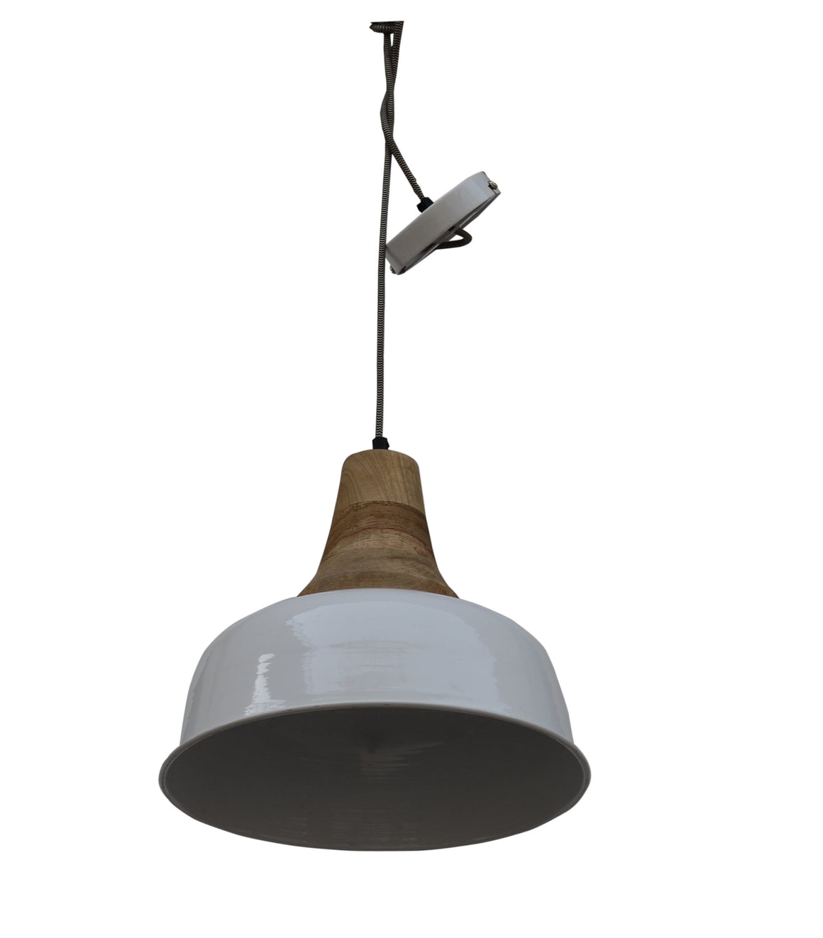 STEEL PENDANT LAMPSHADE Philbee Interiors