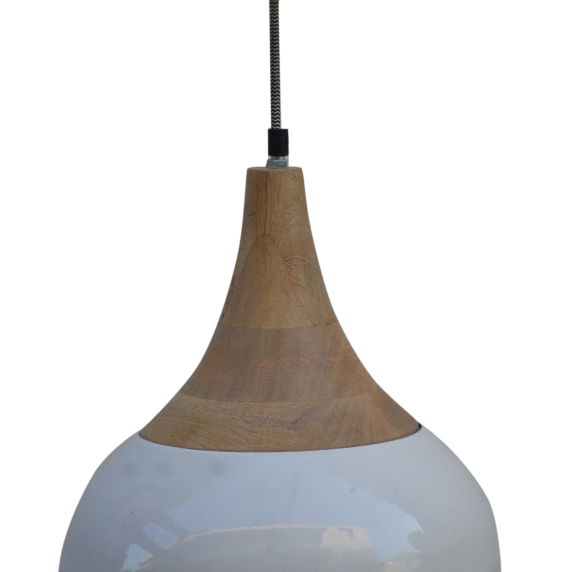 STEEL TEAR DROP LAMPSHADE Philbee Interiors