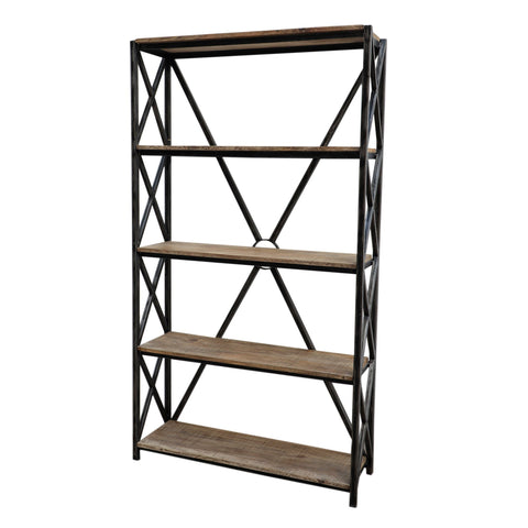BRACED BOOKCASE Philbee Interiors