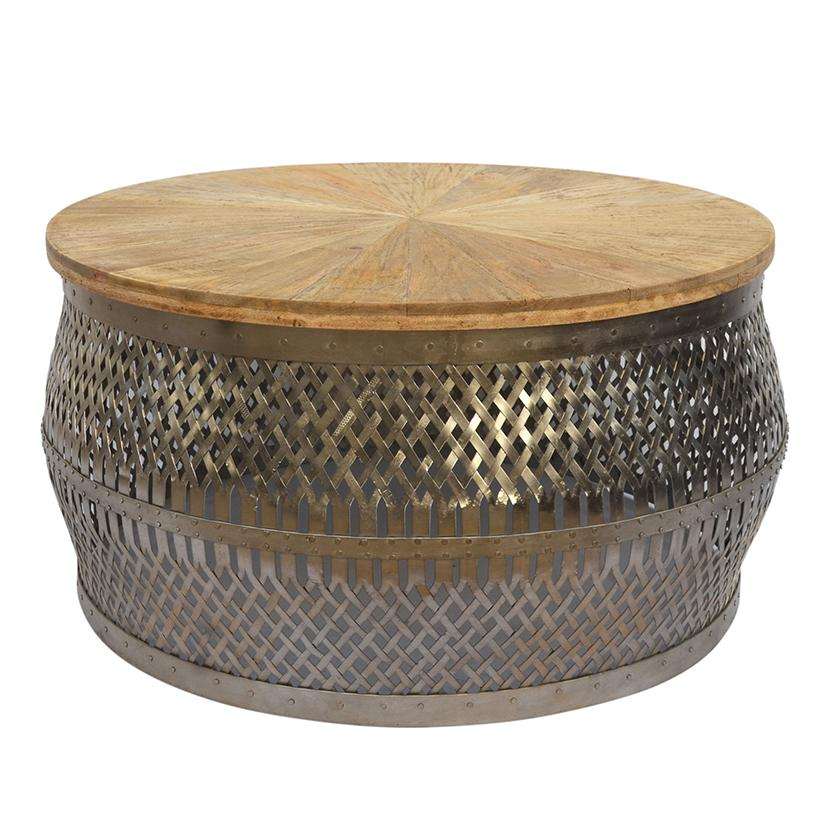 WOVEN COFFEE TABLE Philbee Interiors