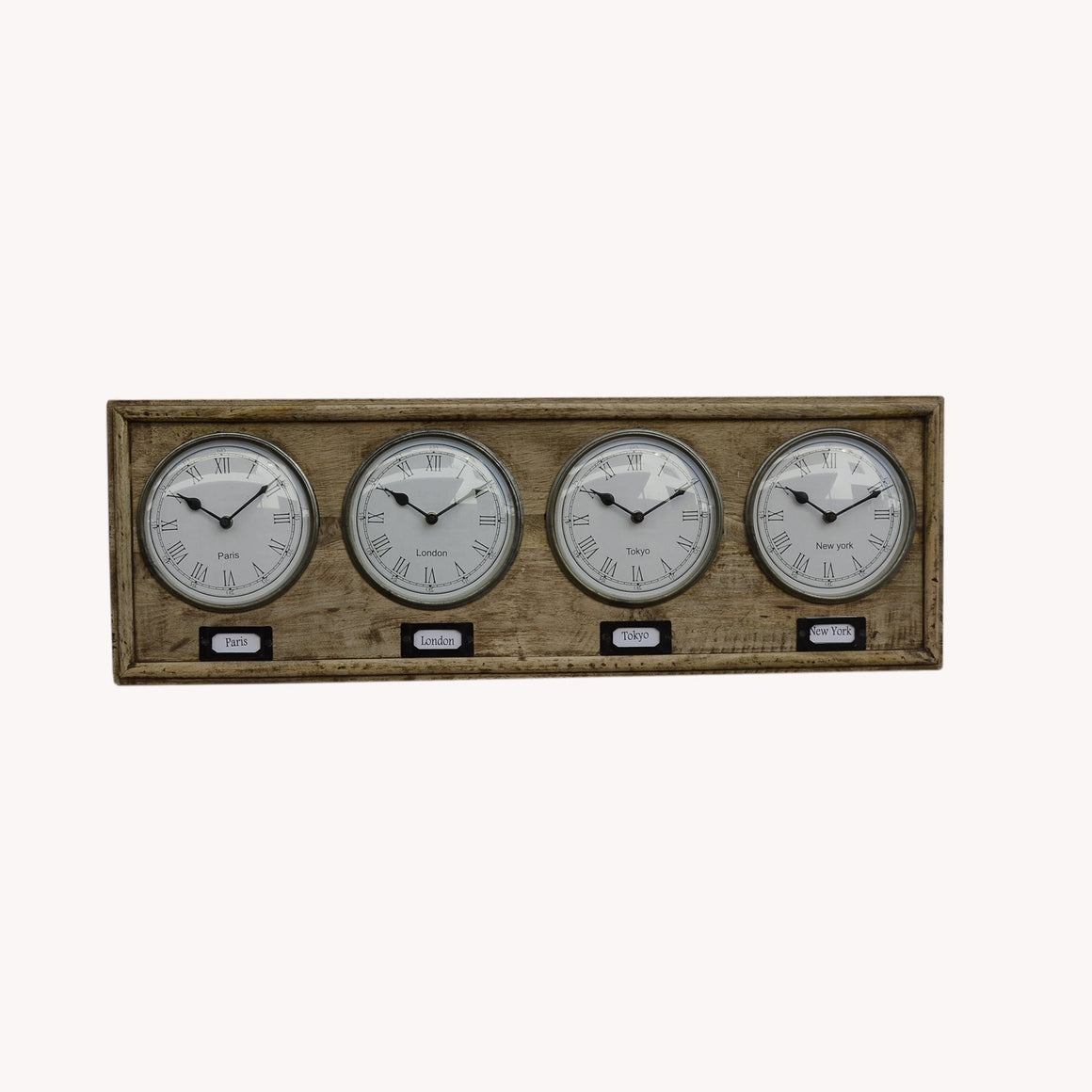 World Timber Clock Philbee Interiors