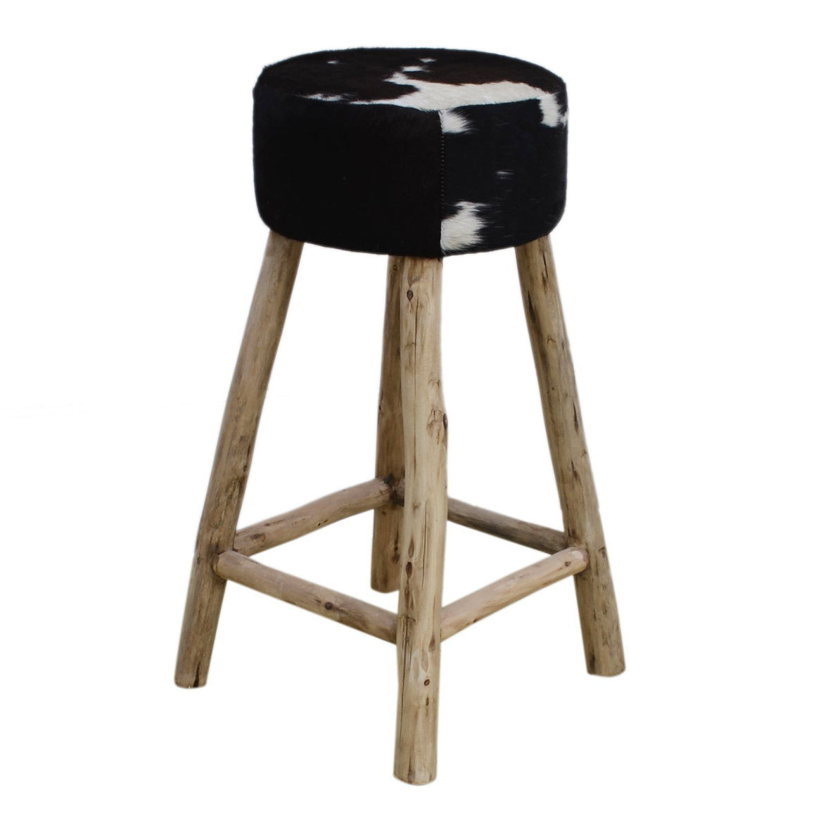 COWHIDE BAR STOOL Philbee Interiors