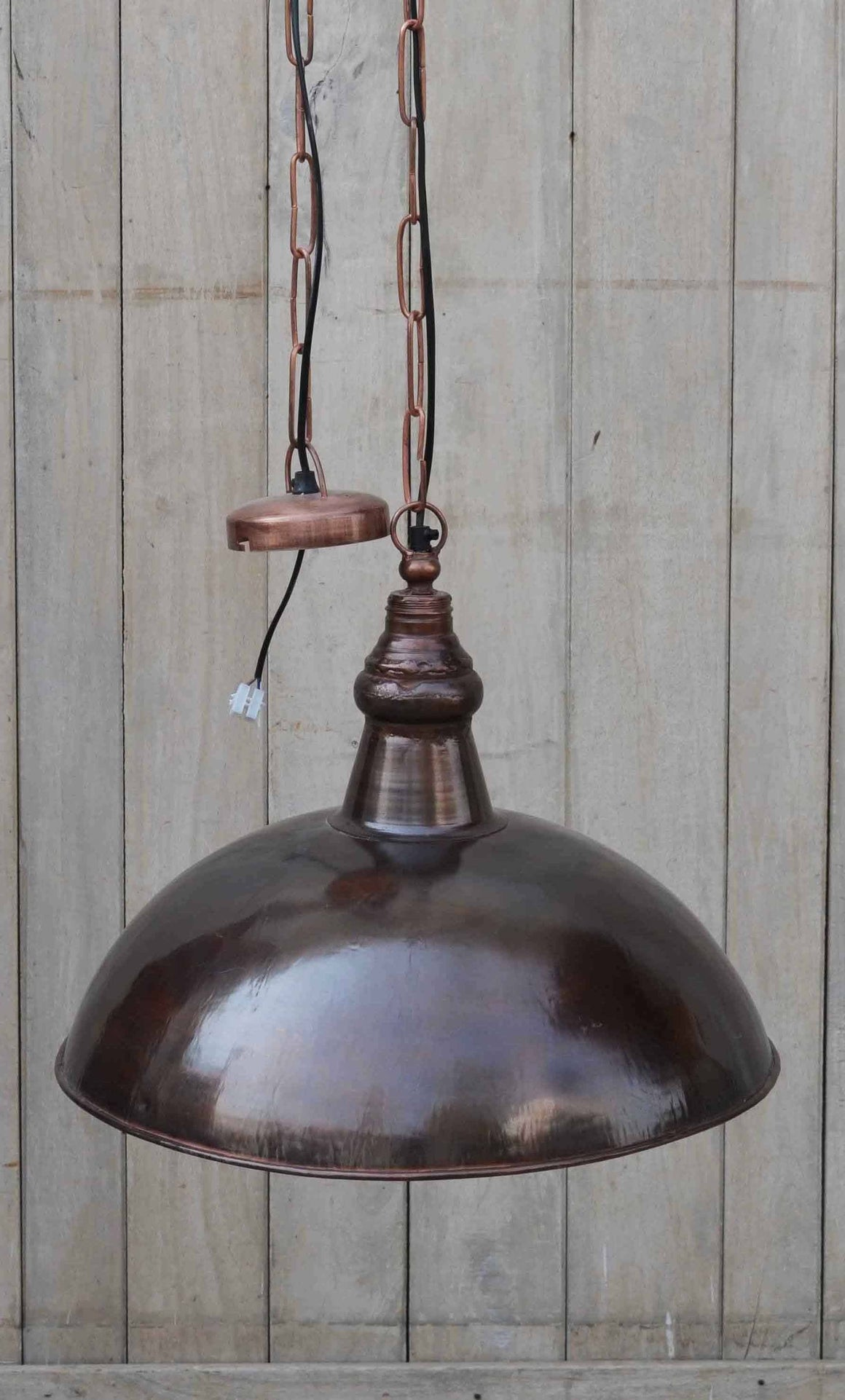 INDUSTRIAL BRASS LAMPSHADE Philbee Interiors