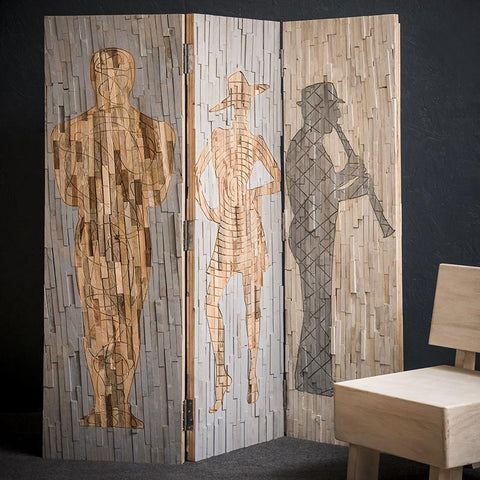 MUSIC BAND TIMBER WALL DIVIDER 30% DISCOUNT Philbee Interiors