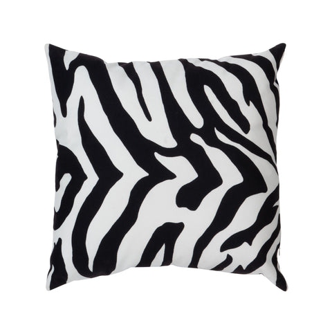 SQUARE ZEBRA PRINT CUSHION Philbee Interiors