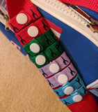 Gymnastics Sports T-Shirt Sleeve Scrunchie Bands Ties (4 Pairs) - Perfect Seeking
