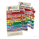 I Love Reading Books Owls Girl Hair Elastics Ribbon Ties (2 Cards,16 Hair Ties) Perfect Seeking