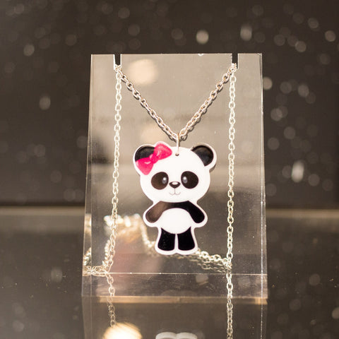 Kids Panda necklace