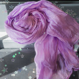 Crinkly Block Colour Scarf