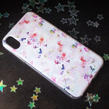 Pink Floral Watercolour iPhone case