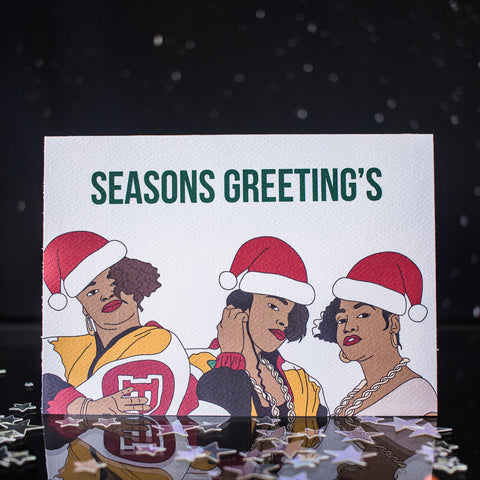 Greet Yoself Christmas Cards