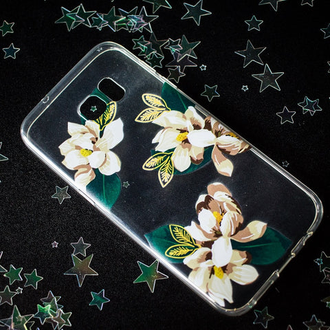 Jasmine Flower Samsung phone case