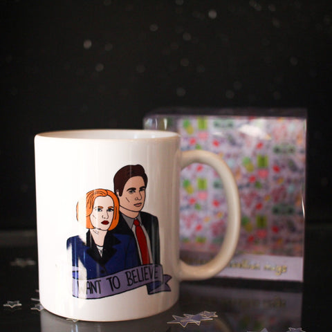 Ex-Girlfriend's Rebellion mug - I Want to Believe (X-Files)