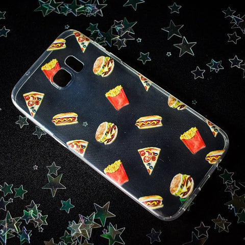 Fast Food Samsung Phone Case