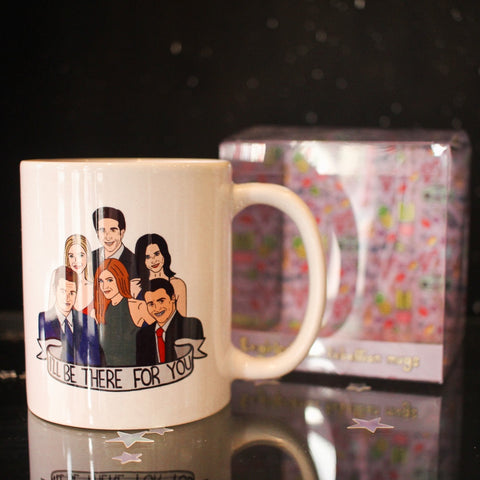 Ex-Girlfriend's Rebellion Mug - I'll Be There For You (Friends)