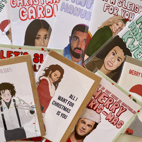 Mystery Christmas Card Bundle (Pop Culture)