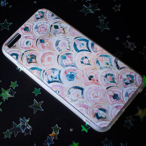 Pastel Scales iPhone case