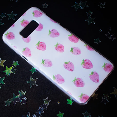 Strawberry Samsung phone case S7 Edge/S8+