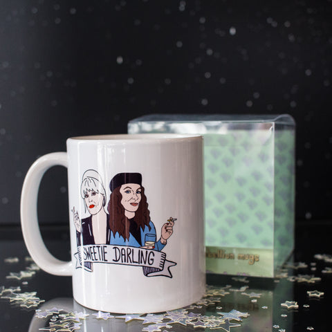Ex-Girlfriend's Rebellion mug - Sweetie Darling (Ab Fab)