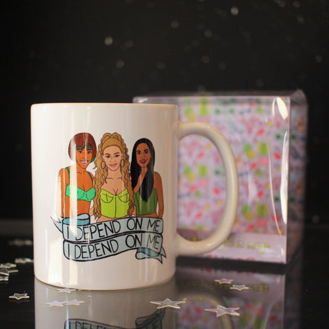Ex-Girlfriend's Rebellion mug - I Depend on Me (Destiny's Child)