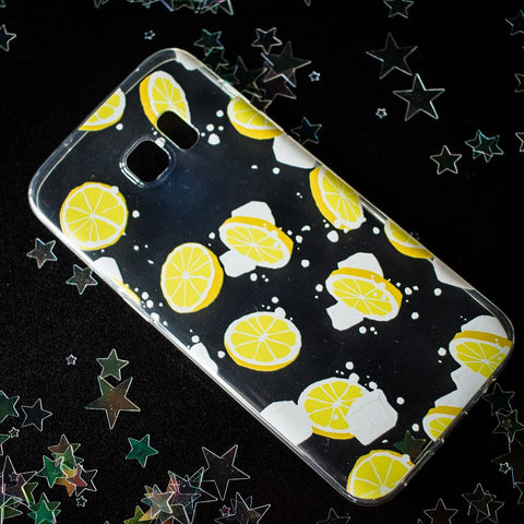 Lemon Samsung phone case