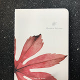 Leaves notebook