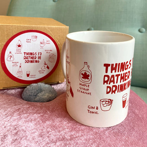 Things I'd Rather Be Drinking mug