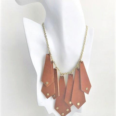 ValerY necklace-handmade leather bags-handcrafted leather-unique design bag-luxury leather bag-stylish bag-OKOhandbags