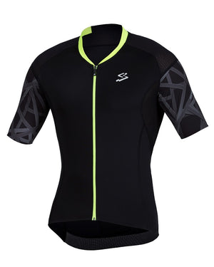 Spiuk Elite Air mens black cycling jersey