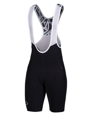 Spiuk Elite Air black cycling bib shorts