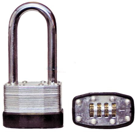 4 Digit Combination Padlock- 45mm Long Shackle