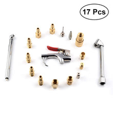 17Pcs Air Tool Compressor Blow Purging Tools Chuck Pneumatic Accessory Accessories Kit