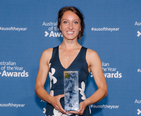 Eleni Glouftsis,  2019 SA Young Australian of the Year