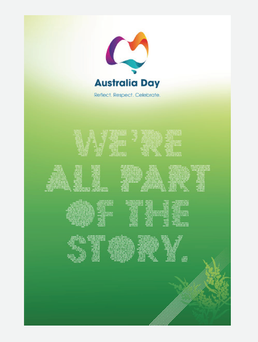 We're all part of the story A2 Posters