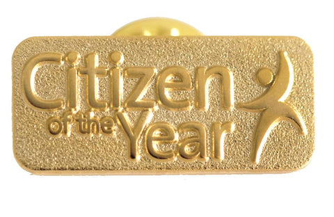 Lapel Badge - Citizen of the Year